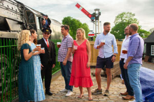 Real Ale Train @ Mid Hants Watercress Line