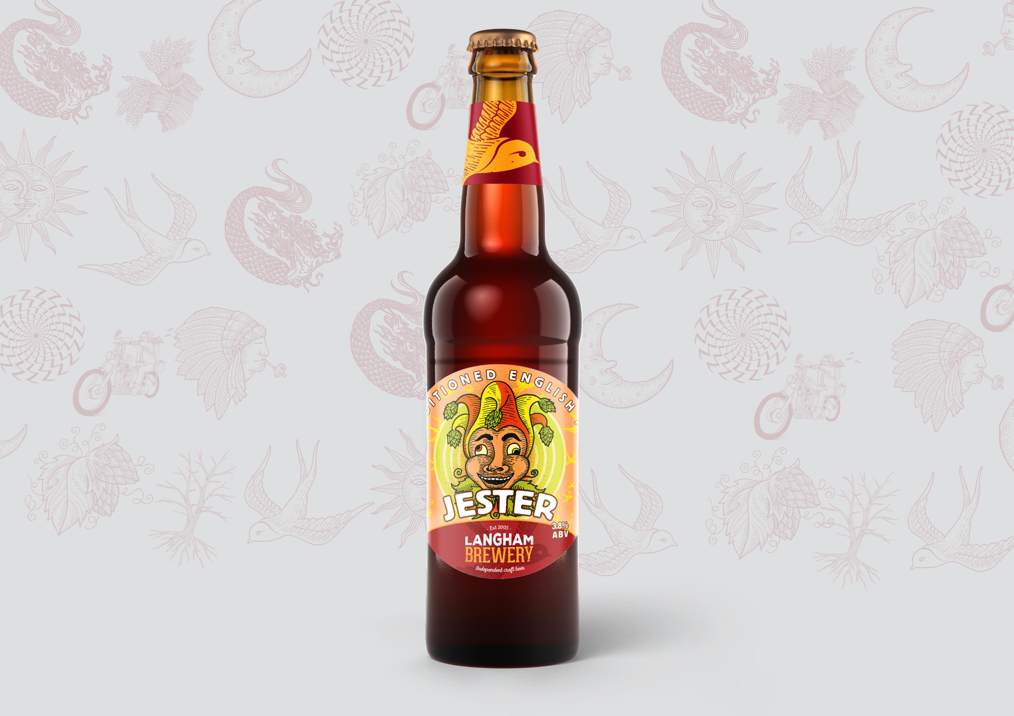 Jester Hops Bottle